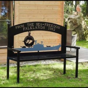 Falklands bench
