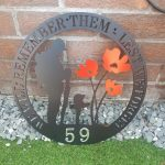 Lest We Forget Wall Plaque