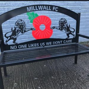 Millwall FC Bench Seat