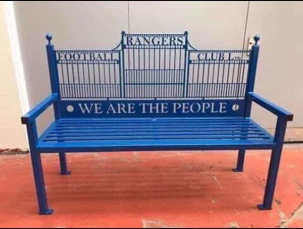 Ranger fc bench we are the people