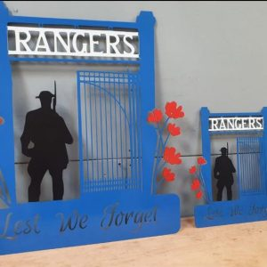 Rangers Gates GD Steel