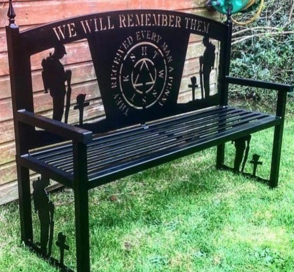 We will remember them bench