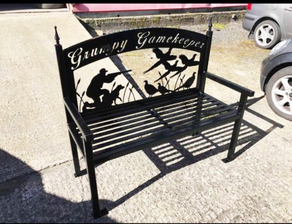 Hunting Outdoor Bench