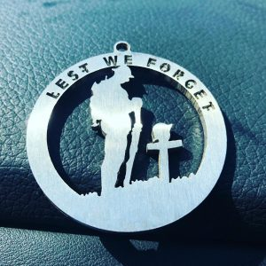 Keyring Lest We Forget