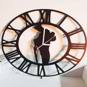 Metal Wall Clock WW1