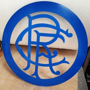 Rangers FC Wall Plaque