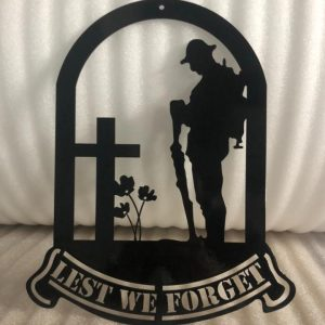 Wall Plaque - Lest We Forget