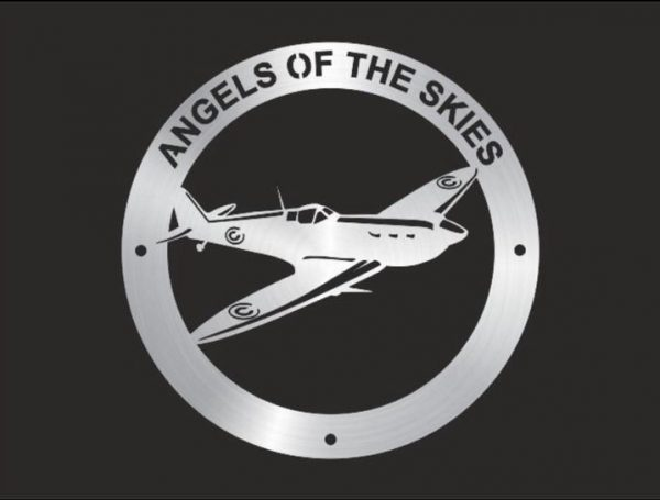 Angels Of The Skies, Spitfire Right Wall Plaque