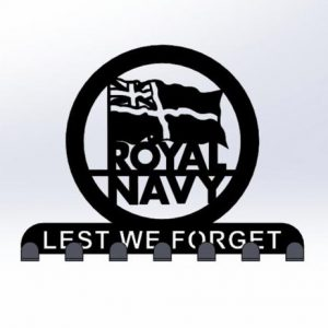 Lest We Forget, Royal Navy Keyring Holder