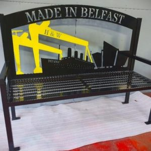 Made In Belfast Bench