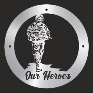 Our Heroes, Soldier Wall Plaque