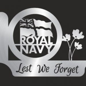 Royal Navy, Lest We Forget Flower hanging basket