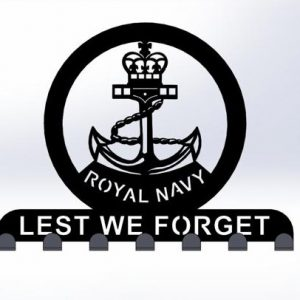 Royal Navy, Lest We Forget, Keyring Holder