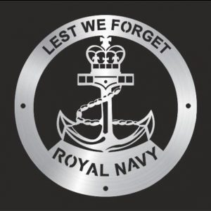 Royal Navy, Lest We Forget Wall Plaque