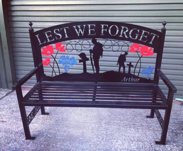 Lest We Forget Bench